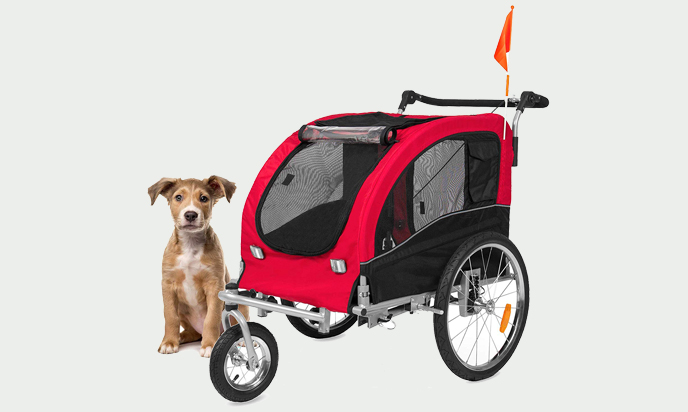 Giantex 2-in-1 Pet Doggy Strollers