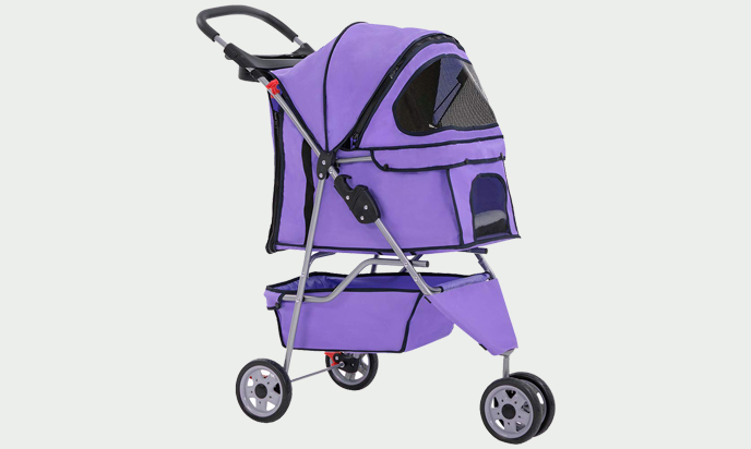 BestPet Doggy Stroller for medium small pets