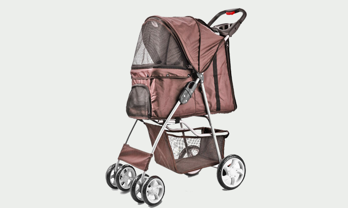 Confidence Amazing pet stroller for small dogs