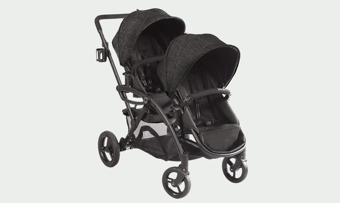 Contours - Options Elite Tandem Double Baby Stroller with Lightweight Frame