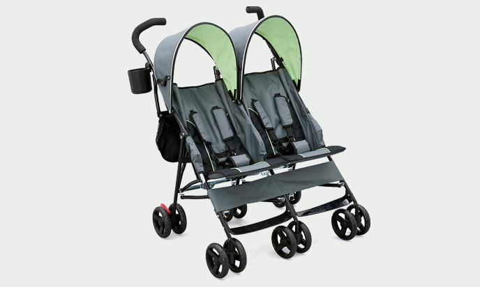 a photo for Delta Children LX Side by Side Tandem Umbrella Stroller