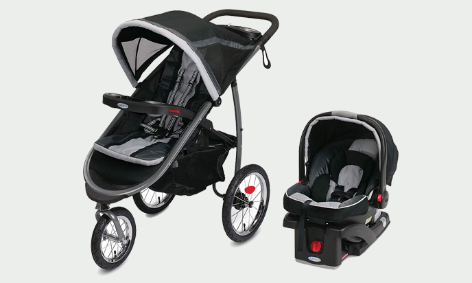 Graco Jogger Click Connect Baby Travel System