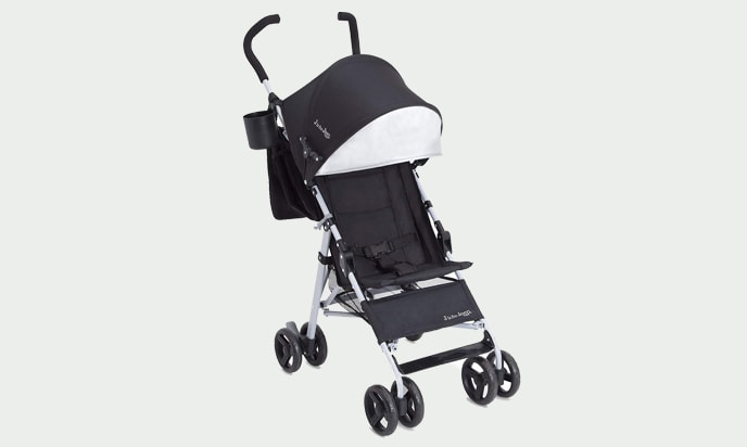 J is for Jeep Brand North Star Stroller in for a photo