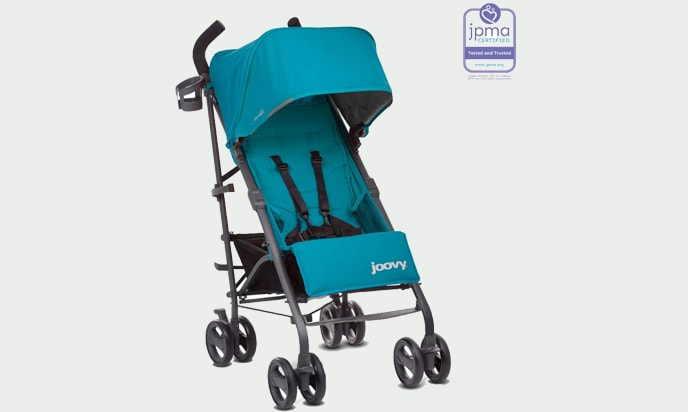 a picture of JOOVY New Groove Ultralight Umbrella Stroller, Turquoise