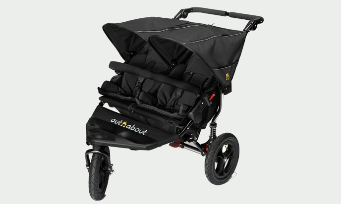 Out N' About Nipper Sport Double Stroller