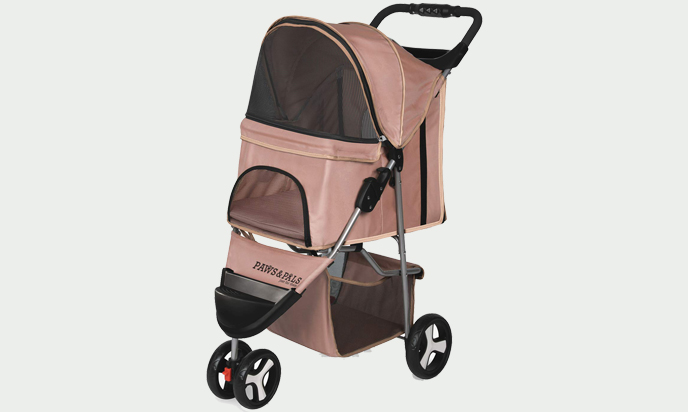 OxGord Small Dog Comfy Stroller