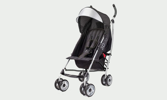 this image is a Summer Infant 3D Lite Convenience Stroller
