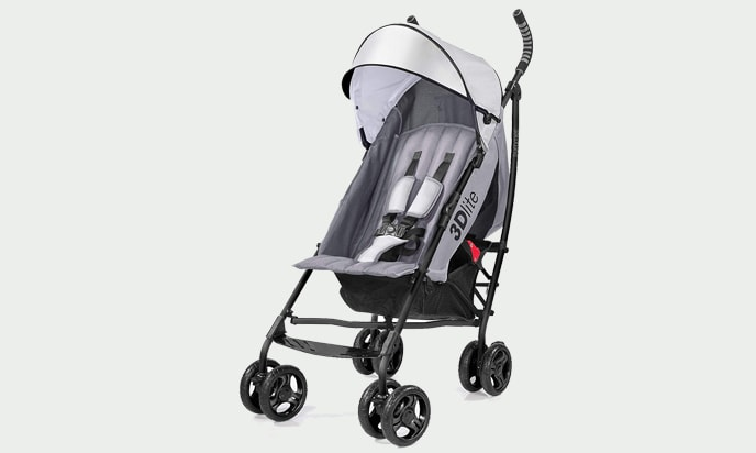 Summer Infant Travel Stroller 3D Lite