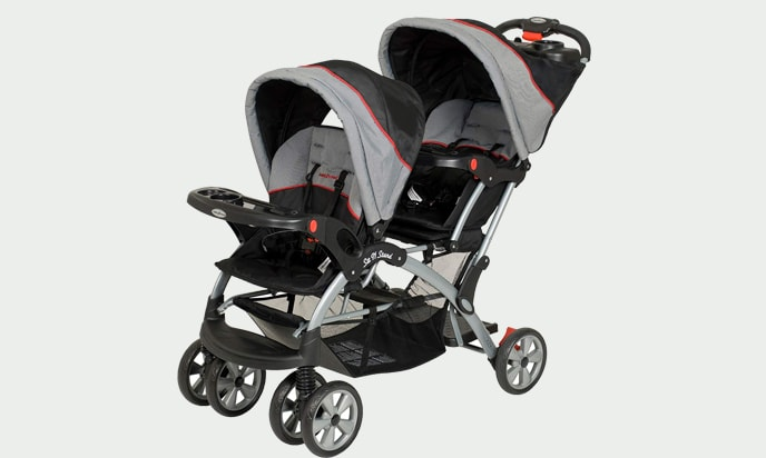 This is a stroller of Baby Trend Double Sit & Stand Stroller