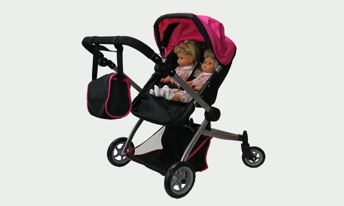 Mommy & Me 9651A Babyboo Deluxe Twin