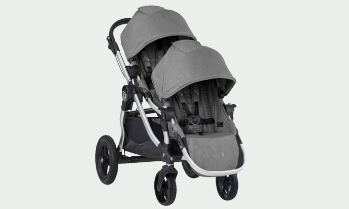 Seats of Baby Jogger City Select Double Stroller
