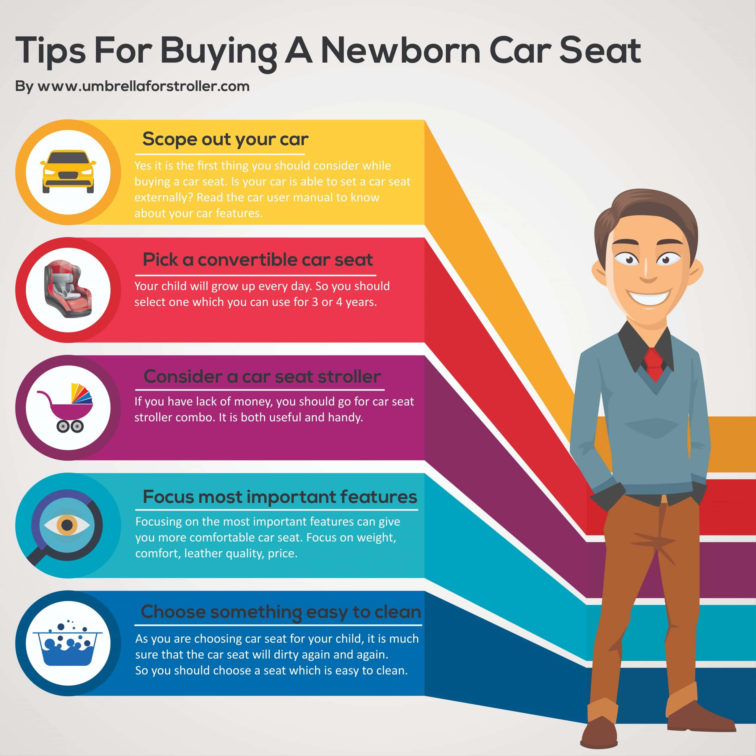 Tips for buying a car seat