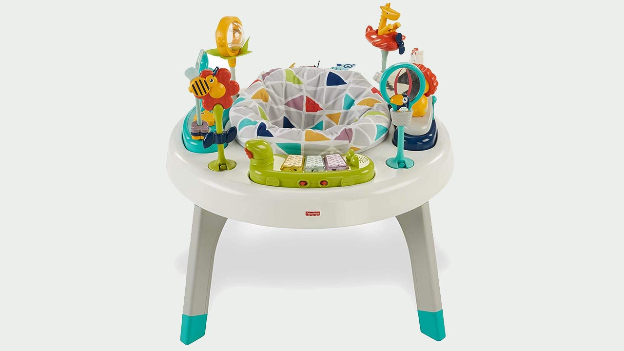 Fisher-Price 2-in-1 Sit-to-stand Baby Activity Center