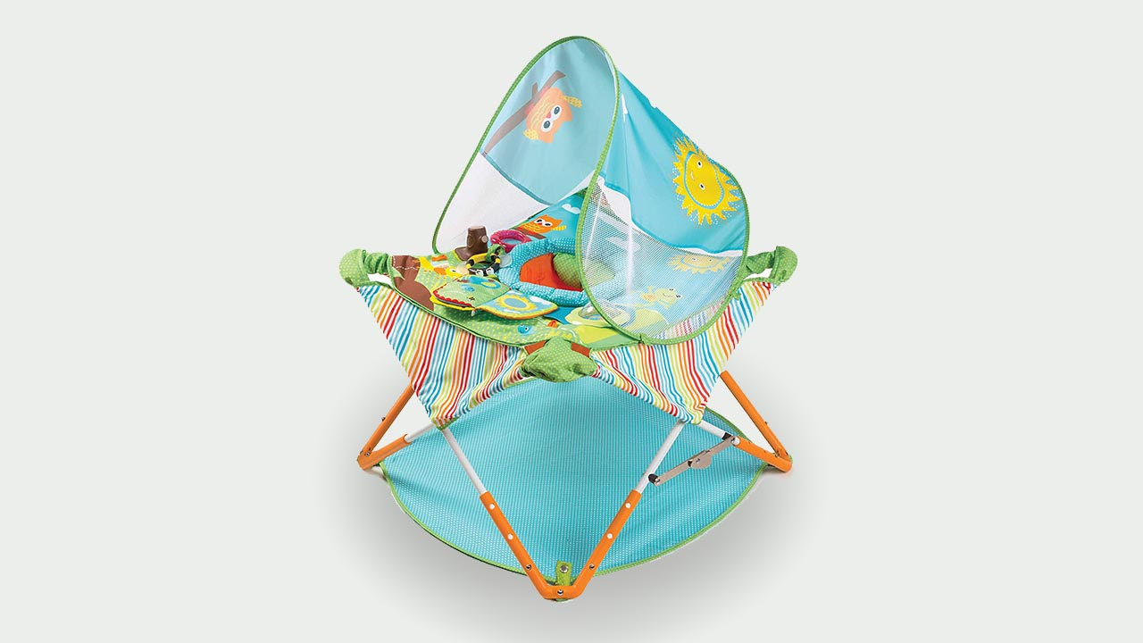 Summer Pop 'n Jump Portable Baby Activity Center